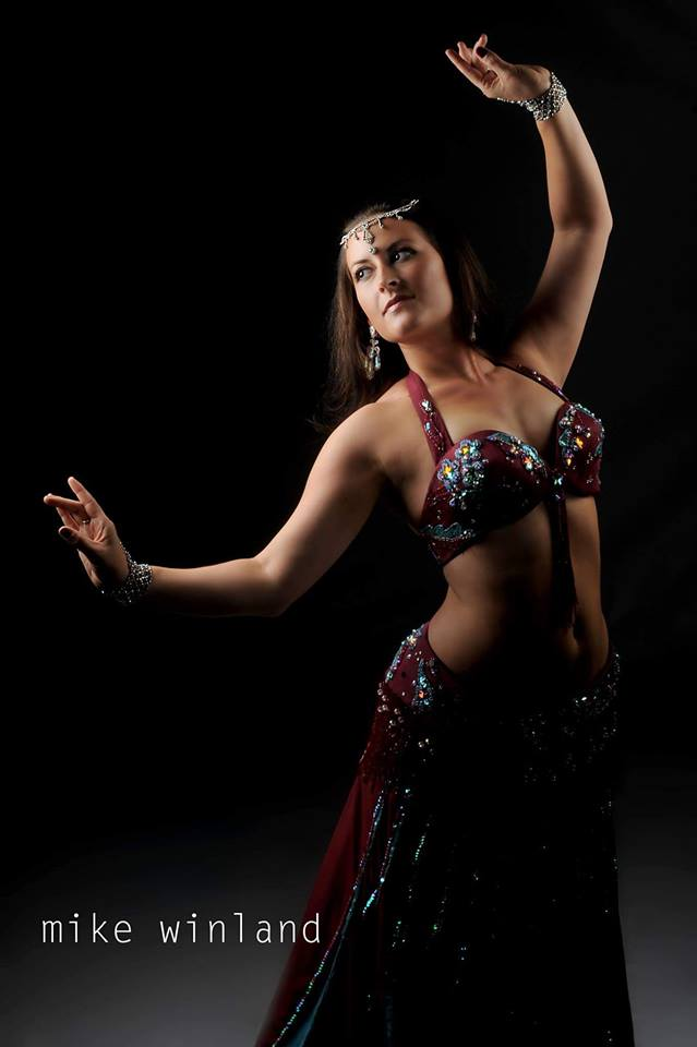 Let Tiffani leave you in a trance with the ancient art of bellydancing
